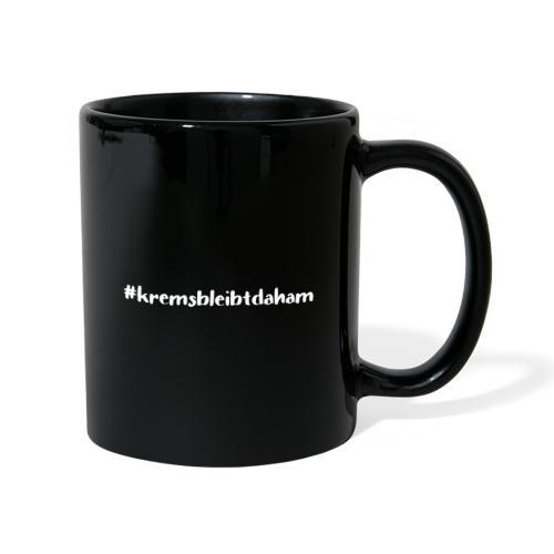 hashtag kremsbleibtdaham white - Tasse einfarbig