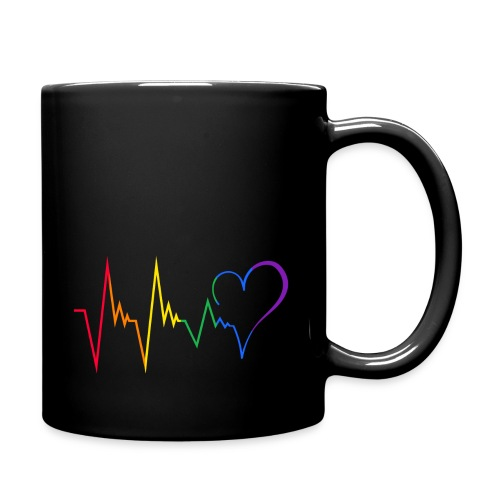 Heartbeat - Tasse einfarbig