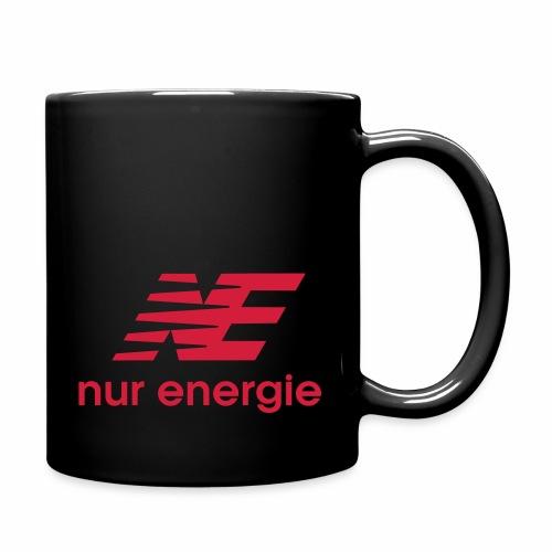 nur Energie - Tasse einfarbig
