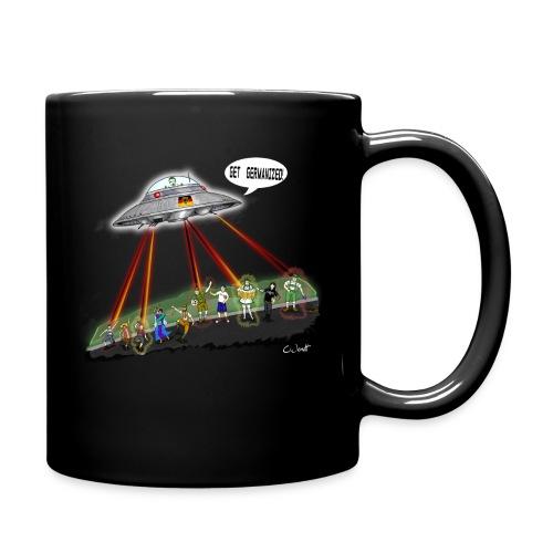 Getgermanized UFOtransparent interlaced png - Full Colour Mug
