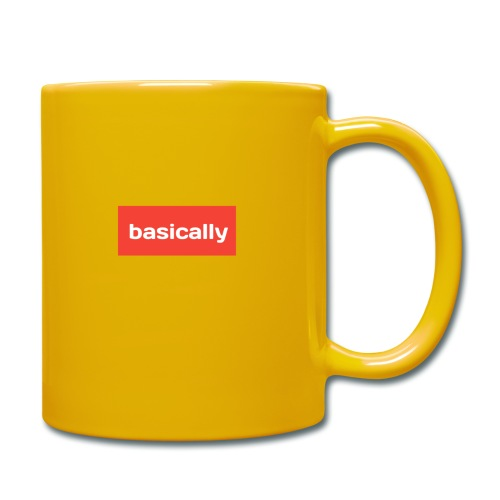Basically merch - Full Colour Mug