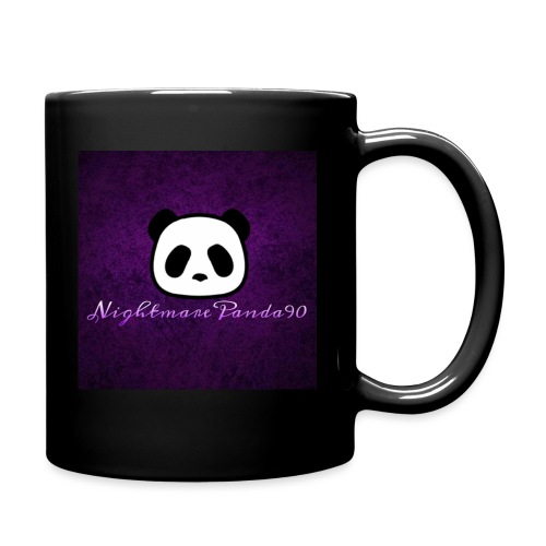 nightmare panda watermark - Full Colour Mug