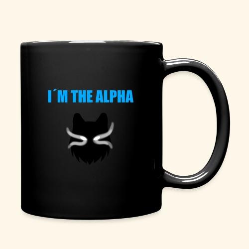 im the alpha - Yksivärinen muki