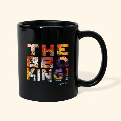 THE BBQ KING T SHIRTS TEKST - Mok uni