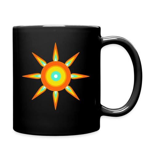 Strahlstern - Tasse einfarbig
