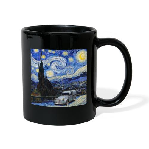 Notte stellata Van Gogh Citroen 2cv furgonette - Tazza monocolore