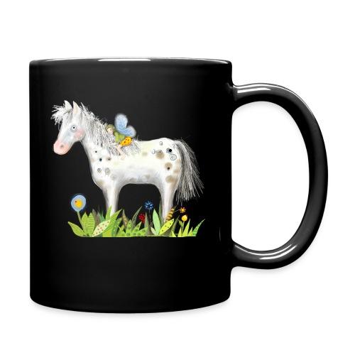 Fee. Das Pferd und die kleine Reiterin. - Tasse einfarbig