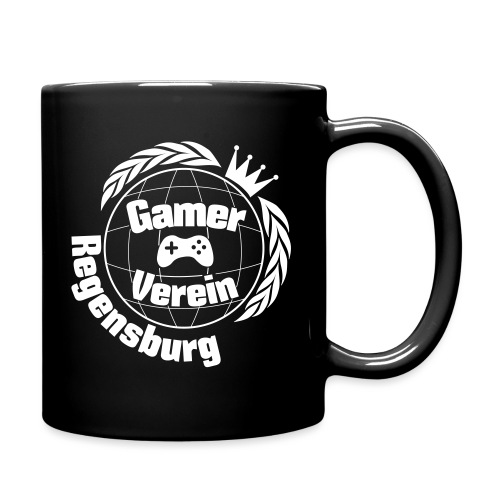 Gamerverein Logo Shirt Re - Tasse einfarbig