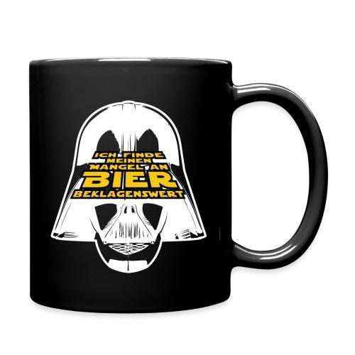 Biermangel Vader Darkside - Tasse einfarbig