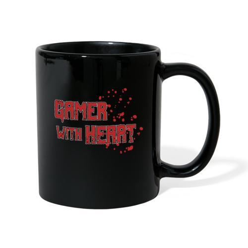 Gamer with heart - Full Colour Mug
