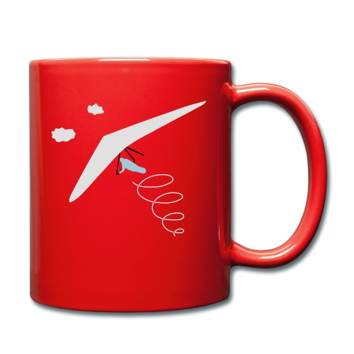 hanggliding thermik - Full Colour Mug
