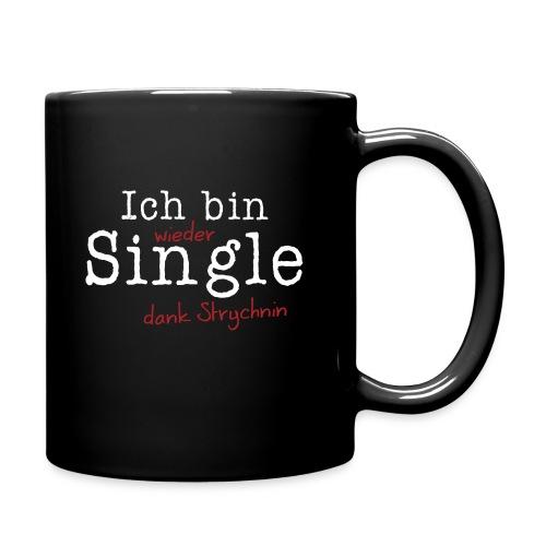 Ich bin Single - Tasse einfarbig