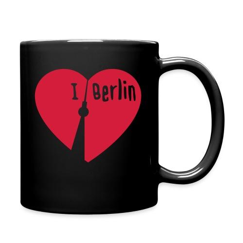 I love Berlin (1-farbig) - Tasse einfarbig