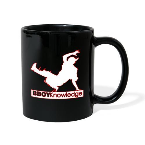 Bboy Knowledge Logo Variation Red&White - Mug uni