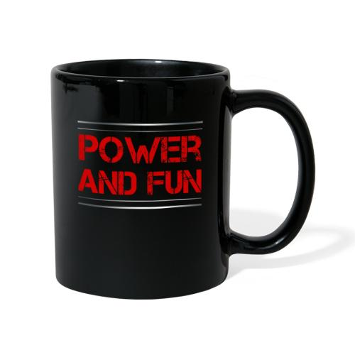 Sport - Power and Fun - Tasse einfarbig