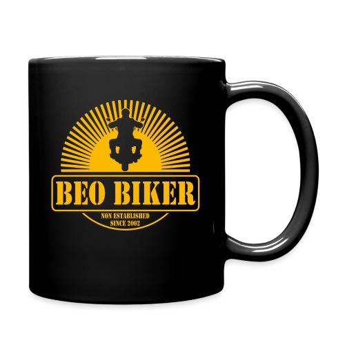 Logo Beo Biker Yellow - Tasse einfarbig
