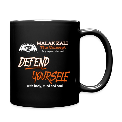 MKlogo defend tshirt2 - Tasse einfarbig