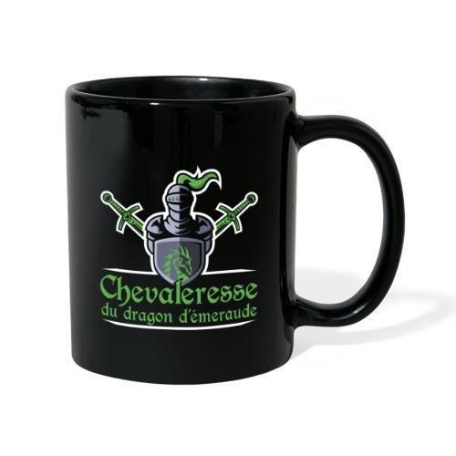 Chevaleresse du dragon d'émeraude - Mug uni