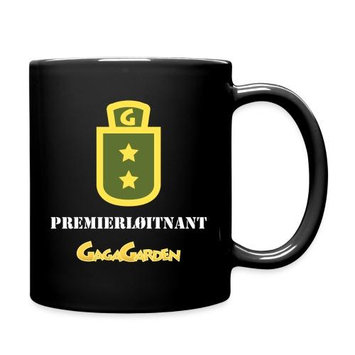 GagaGarden premierløitnant - Ensfarget kopp
