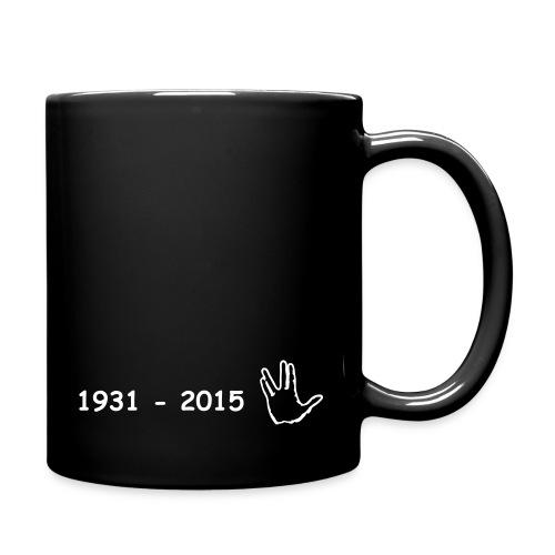 Leonard Nimoy in gedenken - Tasse einfarbig