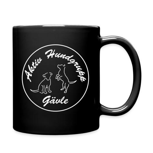 aktiv hundgrupp logo smal - Enfärgad mugg