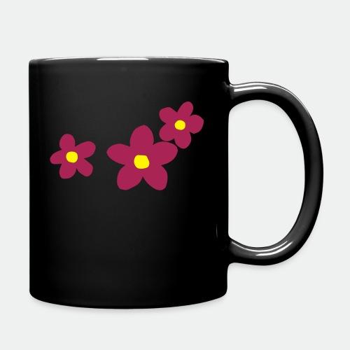 Three Flowers - Full Colour Mug