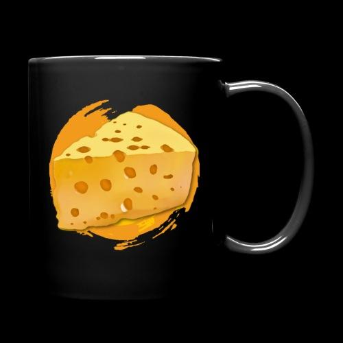 Cheese HD png - Ensfarvet krus
