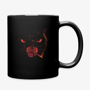 smocking cat - Tasse en couleur