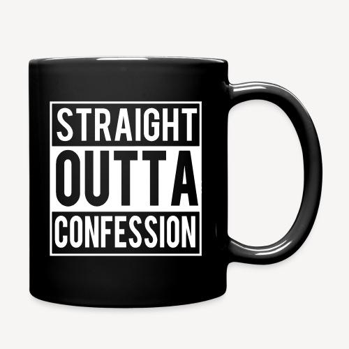STRAIGHT OUTTA CONFESSION - Full Colour Mug