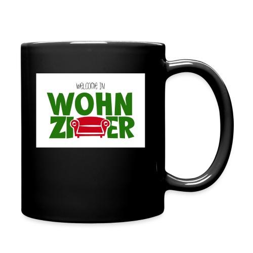 Wohnzimmer-Logo - Tasse einfarbig