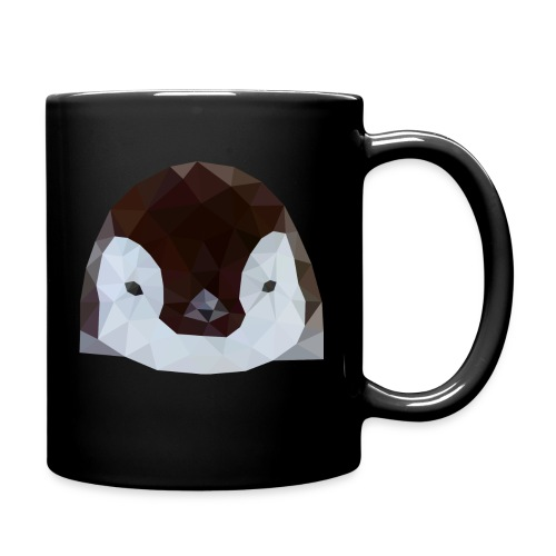 Pinguin Baby Polygon Art - Tasse einfarbig