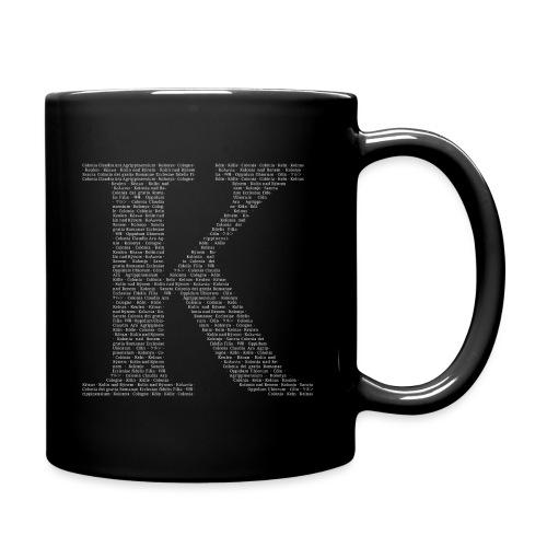 K - Tasse einfarbig
