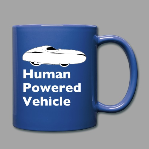 Quest Human Powered Vehicle 2 white - Yksivärinen muki