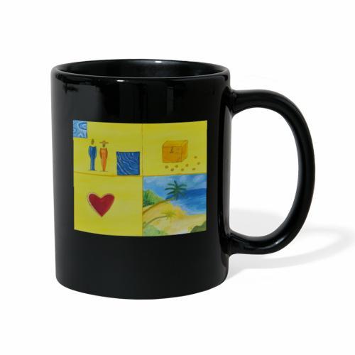 Viererwunsch - Tasse einfarbig