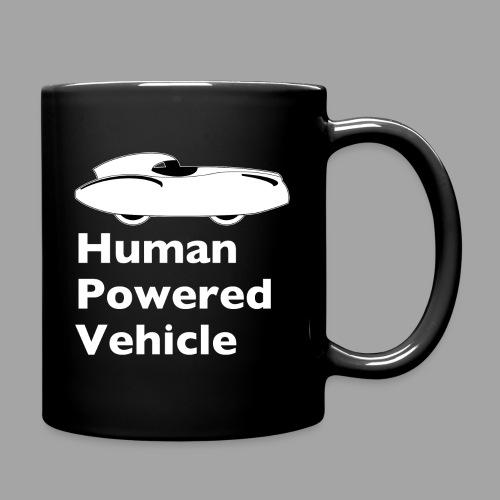Quattrovelo Human Powered Vehicle white - Yksivärinen muki