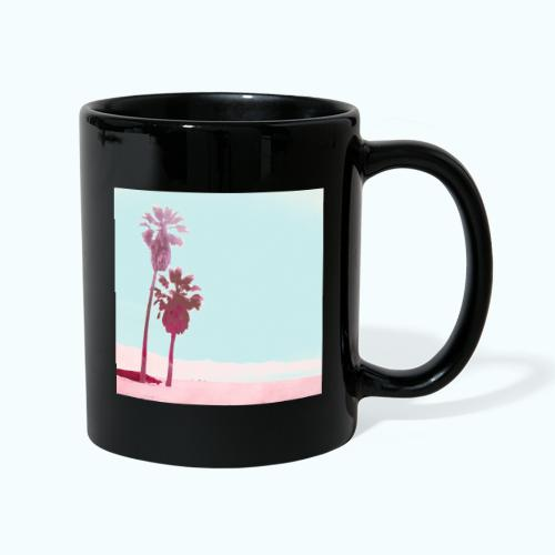 Pastel Beach Minimalism Modern - Full Colour Mug