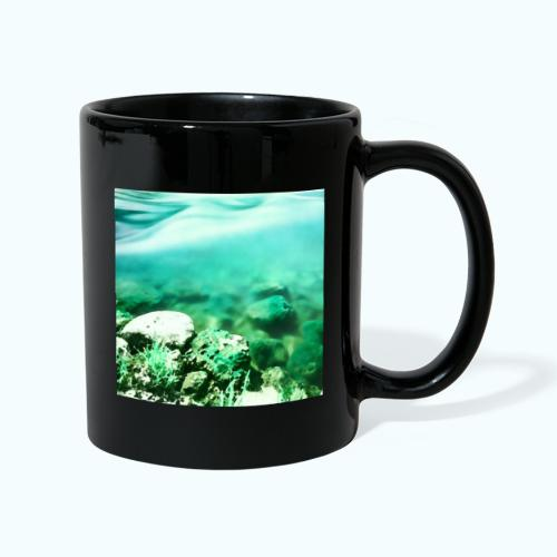 Zen beach watercolor minimalism - Full Colour Mug