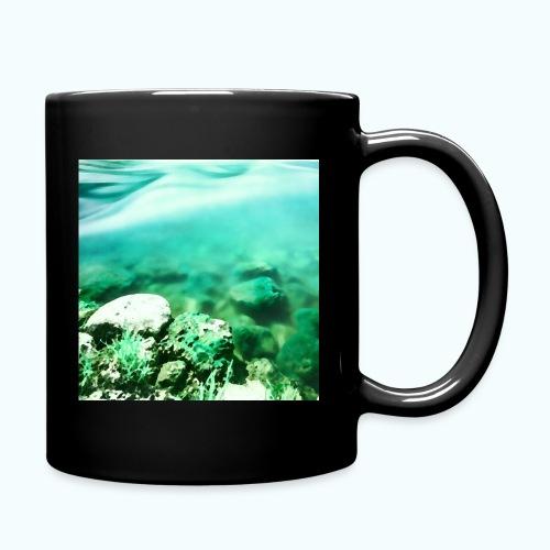 Zen beach watercolor minimalism - Full Colour Mug