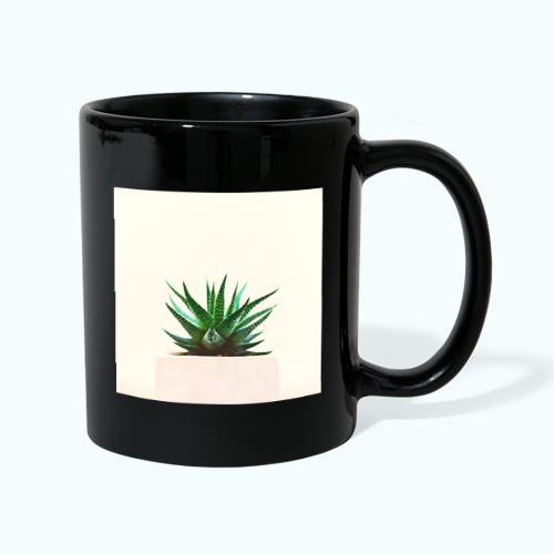 Simple plant minimalism watercolor - Full Colour Mug