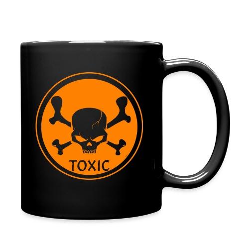 Skull Toxic Black & Orange - Mug uni