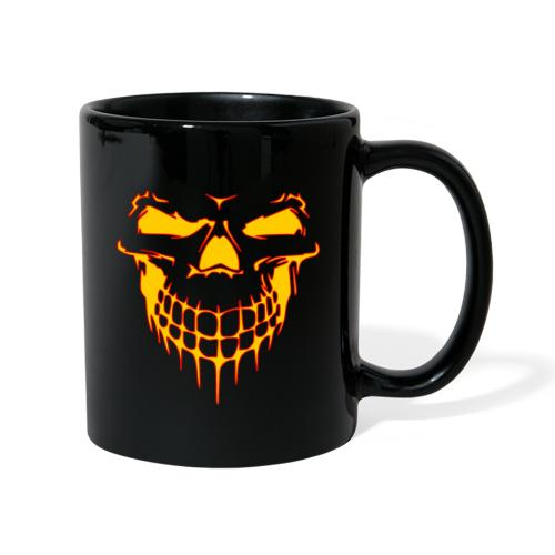 YellowRed skull - Mug uni