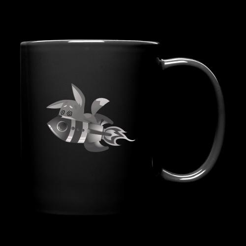Black Planzi schwarz - Tasse einfarbig
