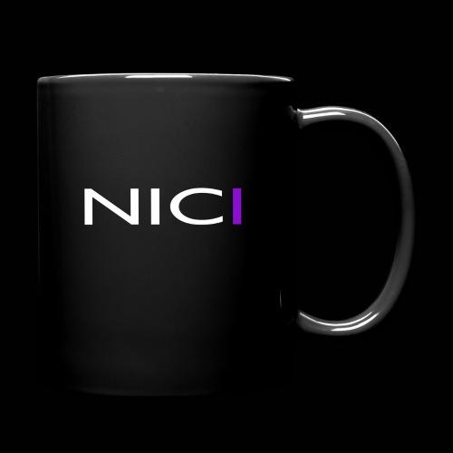 NICI logo WHITE - Yksivärinen muki