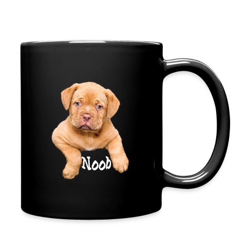 Mops Noob Hunde Spruch - Tasse einfarbig
