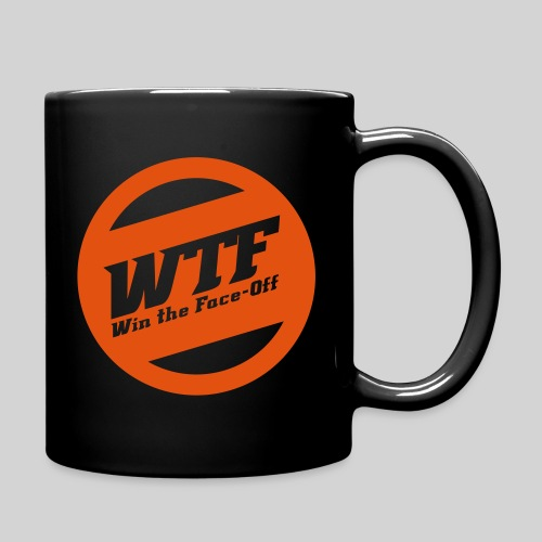 WTF - Win the Face-Off - Tasse einfarbig