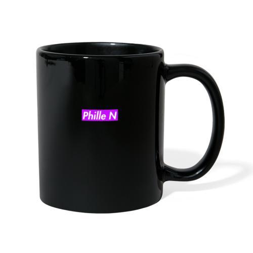 Phille N Square Purple - Enfärgad mugg