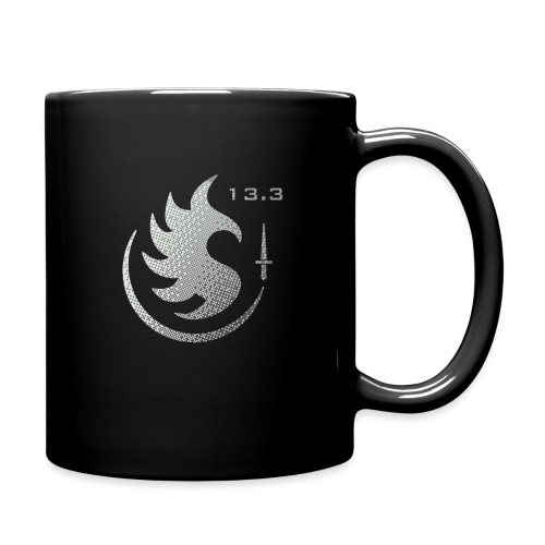 Patch IR 13 3 TRAME BLACK INVERT - Mug uni