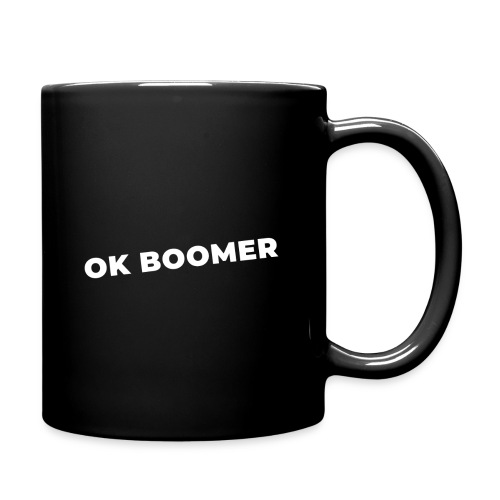 Ok Boomer (white) - Mug uni