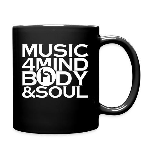 Music 4 Mind, Body & Soul White - Full Colour Mug