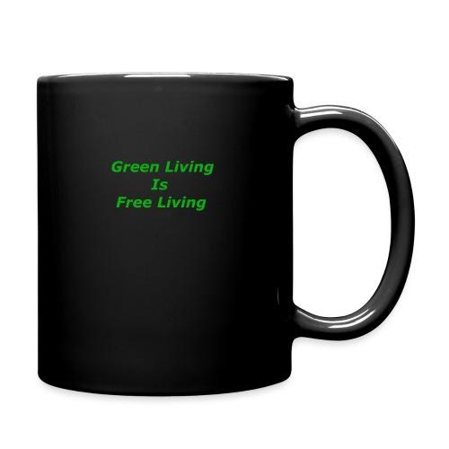 Green Living - Ensfarvet krus